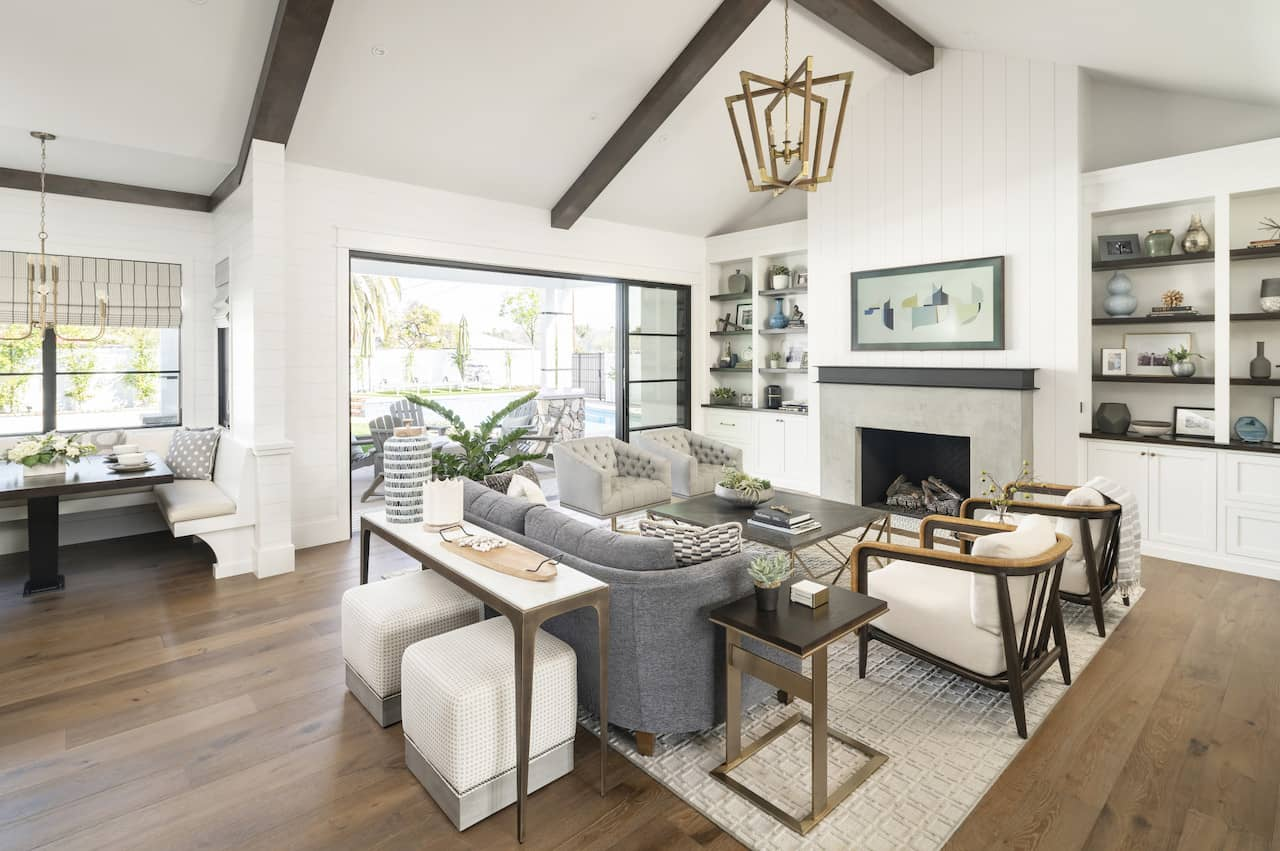 should wood floors match throughout house